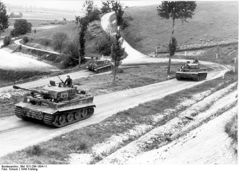 sSSPzAbt 101s Tigers in Normandy  Pictures  WWII Forums