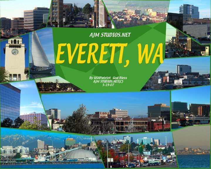 city of everett washington